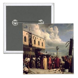 Honores funerarios dados a Titian que murió en Ven Pin Cuadrada 5 Cm