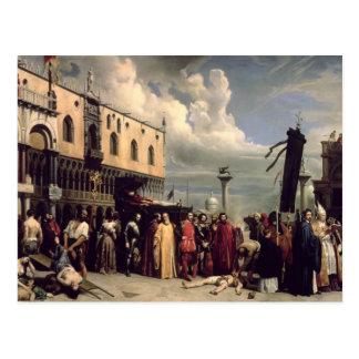 Honores funerarios dados a Titian que murió en Ven Postales