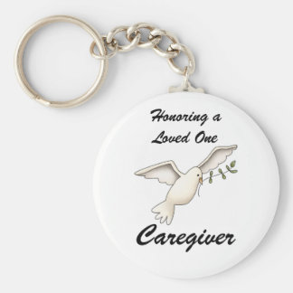 Honoring a Loved One, Caregiver Keychain