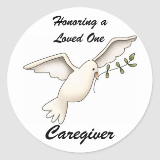 Honoring a Loved One, Caregiver Stickers