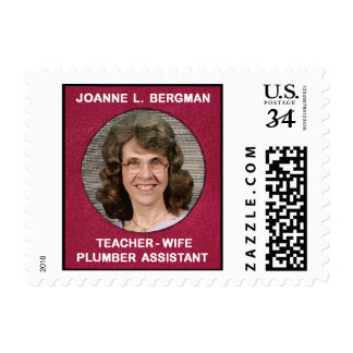 Honoring a person's various professions postage
