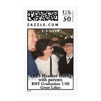 Honoring ABE3 Heather Hartig Postage
