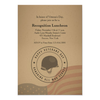 Honoring All Who Served Invitation