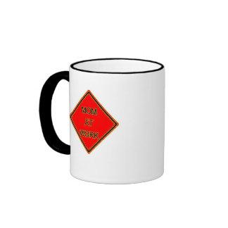 Honoring hard working Moms Ringer Coffee Mug