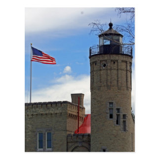 Honoring Mackinaw Lighthouse Postcards