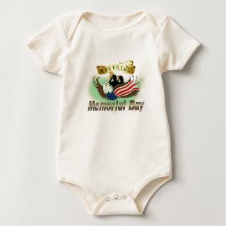Honoring Memorial Day Baby Bodysuit
