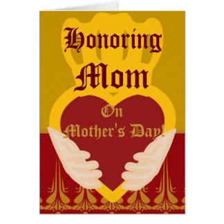 Honoring, Mom,-Customize Card