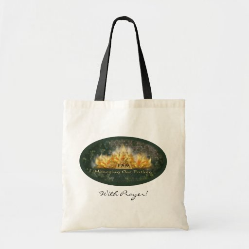 Honoring Our Father Canvas Bags