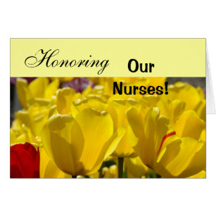 Honor a nurse cards greeting photo cards zazzle honoring our nurses cards happy nurses week card m4hsunfo Image collections