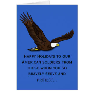Honoring Our Soldiers Card