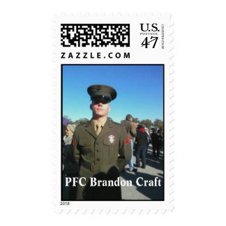 Honoring PFC Brandon Craft Postage Stamp