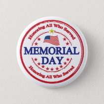 Honoring Service Memorial Day Buttons