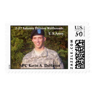 Honoring SPC Kevin A. DeHaven Postage