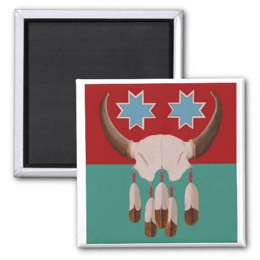Honoring the Buffalo Spirit Magnet