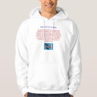 Honoring the U.S. Military - Hooded Sweatshirt