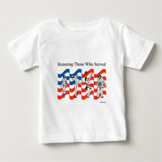 Honoring Those who Served Infant T-shirt