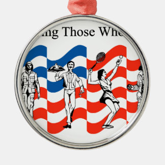 Honoring Those who Served Metal Ornament