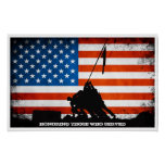 Honoring those who Served - Veterans Day Poster