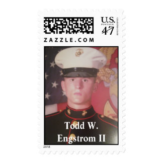 Honoring Todd W. Engstrom II Postage Stamp