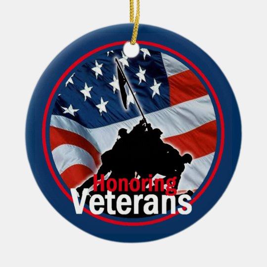 Honoring Veterans Ornament