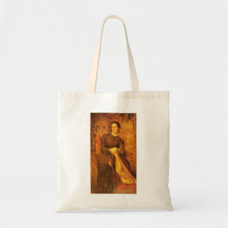 Honourable Mary Baring by George Frederick Watts Canvas Bags