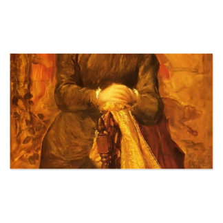 Honourable Mary Baring by George Frederick Watts Double-Sided Standard Business Cards (Pack Of 100)