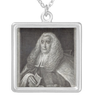 Honourable Mr Justice Blackstone Silver Plated Necklace
