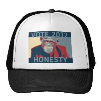 Honradez 2012 del voto gorros
