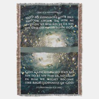 Honrado de arte de la escritura del 5:21 de los manta
