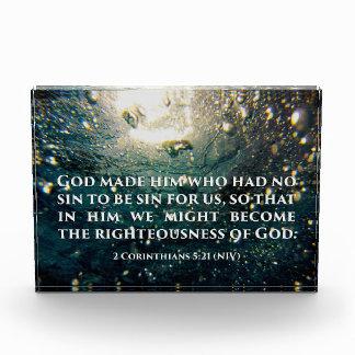 Honrado de arte de la escritura del 5:21 de los