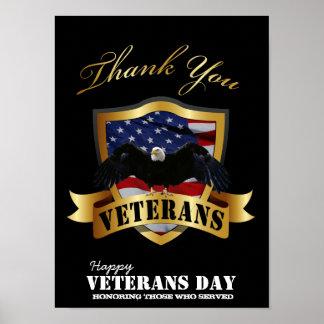 Honrando a los que sirvieron Día de veteranos fe Impresiones