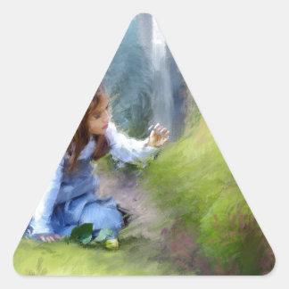 honrar ésos pasó on.jpg calcomania de triangulo personalizadas