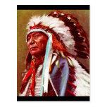 Honrar historia del nativo americano postal