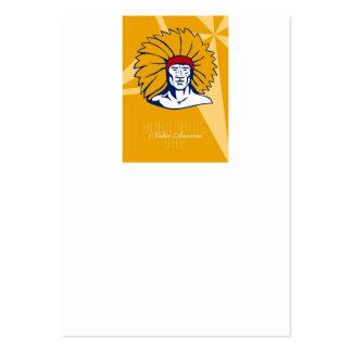 Honrar la tarjeta retra del poster del día del nat tarjetas de visita grandes