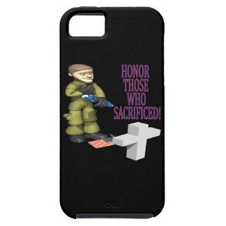 Honre a los que sacrificaron iPhone 5 fundas