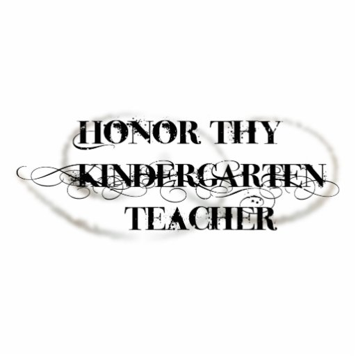 Honre a Thy maestro de jardín de infancia Fotoescultura Vertical