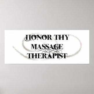 Honre a Thy terapeuta del masaje Impresiones
