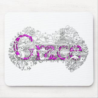 Honre el arte conocido con nombre púrpura por el s alfombrillas de ratones