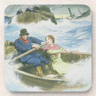 Honre el querido (1815-41) y a su padre que rescat posavasos de bebidas