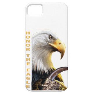 Honre los regalos y la ropa de la garra de Eagle Funda Para iPhone SE/5/5s
