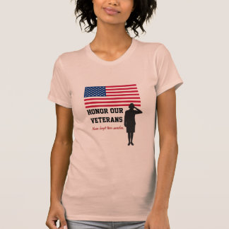 Honre nuestra camiseta de Customizeable de los vet