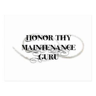 Honre Thy mantenimiento Guru Postal