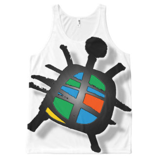 honu All-Over-Print tank top