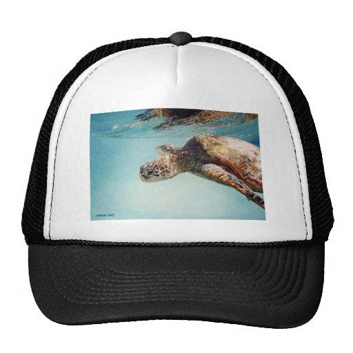 Honu by Marilyn Wear Trucker Hats