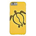 Honu de oro Hawaii Funda Para iPhone 6 Barely There