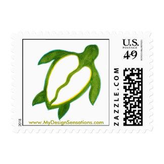 Honu, franqueo hawaiano del boda timbre postal