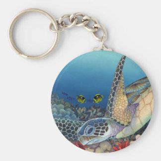 Honu (Green Sea Turtle) Keychain