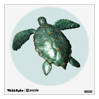 Honu - Green Sea Turtle Wall Decal