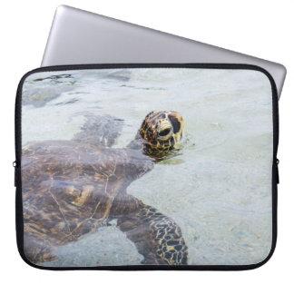 Honu Hawaiian Sea Turtle - Hawaii Turtles Computer Sleeves