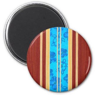 Honu Hawiian Faux Wood Surfboard Magnets